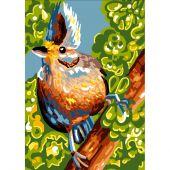 Canevas Pénélope  - Luc Créations - Drôle d'oiseau