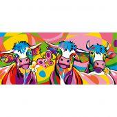 Canevas Pénélope  - SEG de Paris - Les vaches