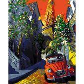 Kit de peinture par numéro - Wizardi - Paris