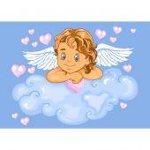 Kit de peinture par numéro - Wizardi - Cupidon