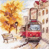 Kit point de croix - Alisa - Le tramway