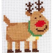 Kit point de croix pour enfant - Anchor - Rudolph