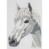 Kit point de croix - Anchor - Cheval blanc