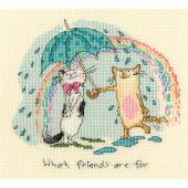 Kit point de croix - Bothy Threads - À quoi servent les amis
