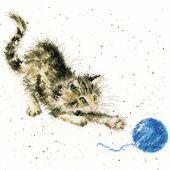 Kit point de croix - Bothy Threads - Kitty