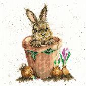 Kit point de croix - Bothy Threads - Le pot de fleurs
