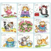 Kit point de croix - Bothy Threads - C'est une vie de chat