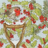 Kit point de croix - Bothy Threads - Jardin de Noël