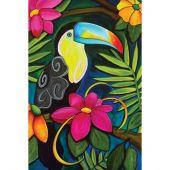 Kit de broderie Diamant - Collection d'Art - Toucan tropical
