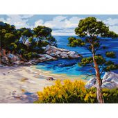 Canevas Pénélope  - Collection d'Art - Paysage marin