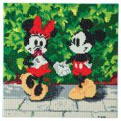 Kit de broderie Diamant sur châssis - Crystal Art D.I.Y - Minnie et Mickey