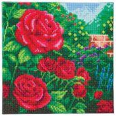 Kit de broderie Diamant sur châssis - Crystal Art D.I.Y - Une rose rouge parfaite