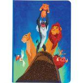 Carnet broderie Diamant - Crystal Art D.I.Y - Simba