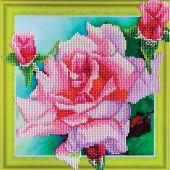 Support carton broderie Diamant - RTO - Rose tendre