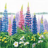 Kit point de croix - Charivna Mit - Fleur du matin