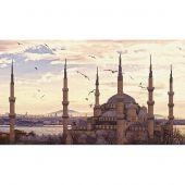 Kit point de croix - Charivna Mit - La Mosquée Bleue