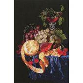 Kit point de croix - Charivna Mit - Fruits présents dans la vigne