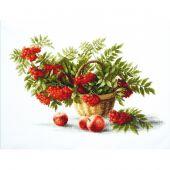 Kit point de croix - Charivna Mit - Bouquet de sorbiers