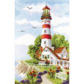 Kit point de croix - Charivna Mit - Le phare