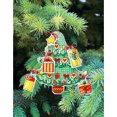 Kit d'ornement à broder - Charivna Mit - Jouets de Noël : Sapin