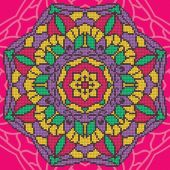 Kit de broderie Diamant - Diamond Art - Mandala