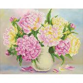 Kit de broderie Diamant - Diamond Art - Bouquet de fleurs