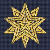 Kit de broderie Diamant - Diamond Art - Etoile