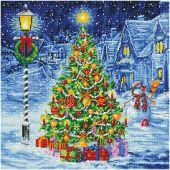 Kit de broderie Diamant - Diamond Dotz - Oh l'arbre de Noël