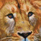 Kit de broderie Diamant - Diamond Dotz - Magie du Serengeti