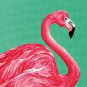 Kit de canevas unifil - Dimensions - Flamant rose
