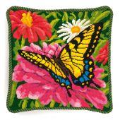 Kit de canevas unifil - Dimensions - Papillon et zinnias