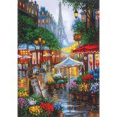 Kit de peinture par numéro - Dimensions - Printemps à Paris