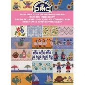Livre diagramme - DMC - Idées à broder spécial serviettes de bain