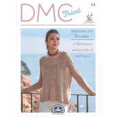 Livre - DMC - 12 modèles printemps/été  Natura Linen