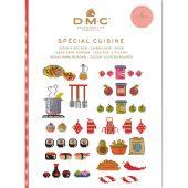 Livre diagramme - DMC - Idées à broder spécial cuisine