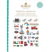 Livre diagramme - DMC - Idées à broder spécial enfants