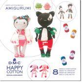 Livre - DMC - 8 idées à crocheter Happy Cotton 9
