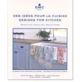 Livre diagramme - DMC - Idées à broder spécial torchons de cuisine