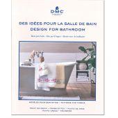 Livre diagramme - DMC - Idées à broder spécial salle de bain