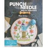 Livre - Les éditions de saxe - Punche Needle - Spécial débutants