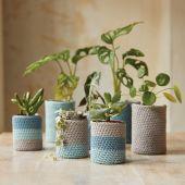 Kit à crocheter - DMC - J'habille mes plantes