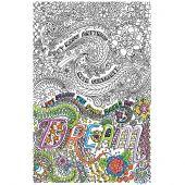 Toile pré-dessinée - Zenbroidery - Dream