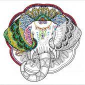 Toile pré-dessinée - Zenbroidery - Elephant
