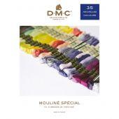 Fil à broder - DMC - Lot de 35 nouveaux coloris