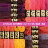 Fil à tapisser - DMC - Collection complète Laine Colbert - Art. 486