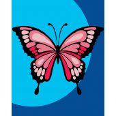 Kit de canevas pour enfant - Luc Créations - Papillon