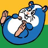 Kit de canevas pour enfant - Luc Créations - Hamster