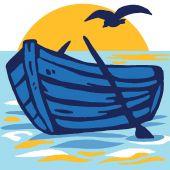 Kit de canevas pour enfant - Luc Créations - Barque