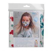 Kit couture - LMC - Kit confection pour 3 masques - N°1