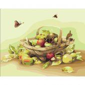 Kit de peinture par numéro - Lanarte - Fruits d'été